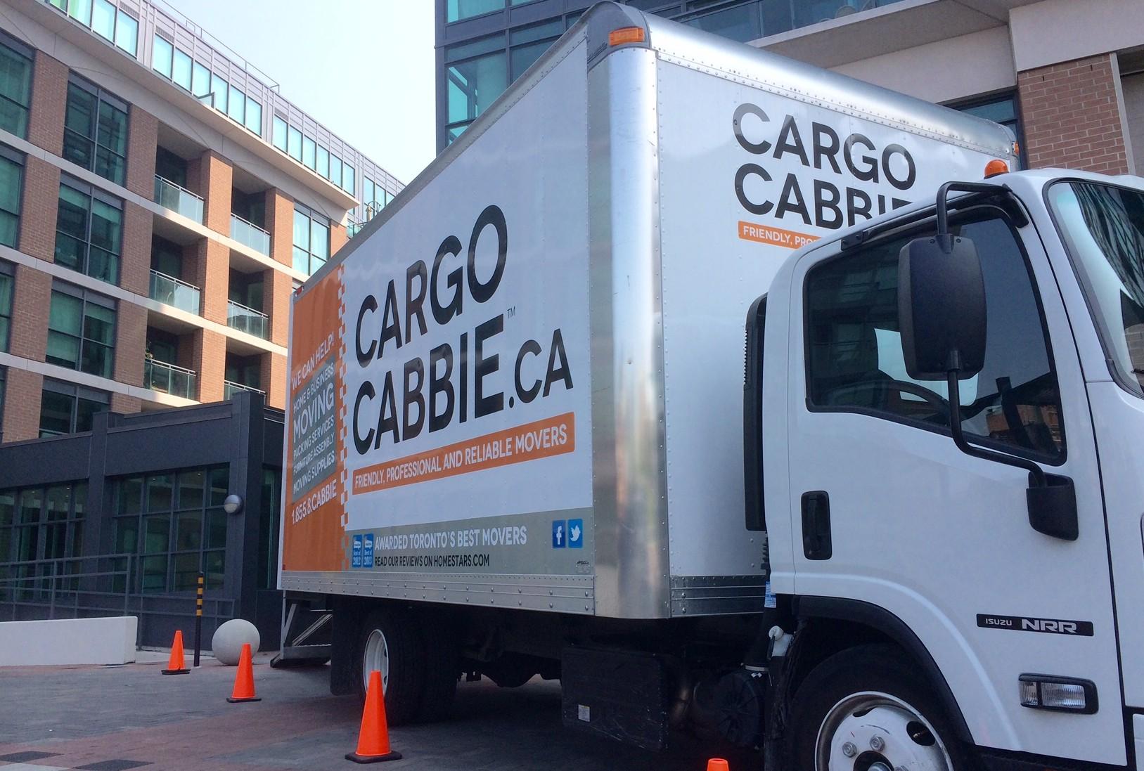 Cargo Cabbie condo movers 2014