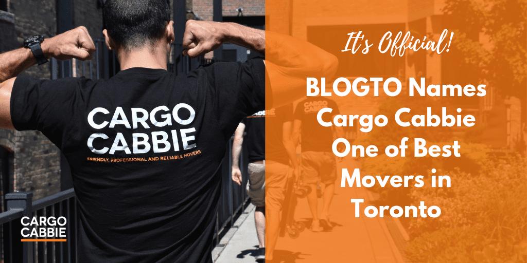 Best Movers in Toronto blogto > CARGO CABBIE