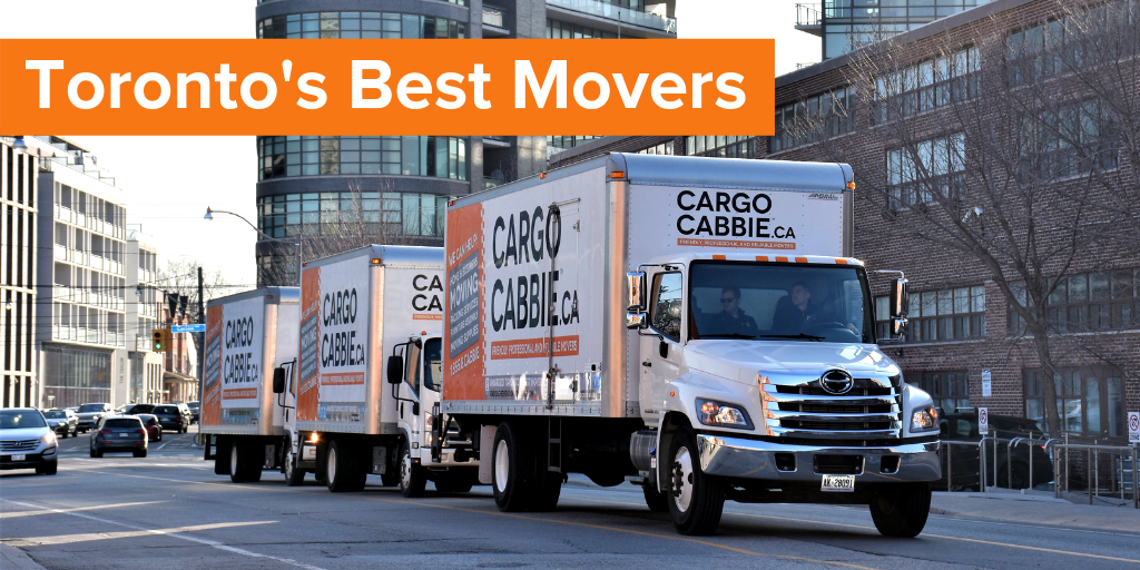 Best Movers in Toronto by blogTO CARGO CABBIE
