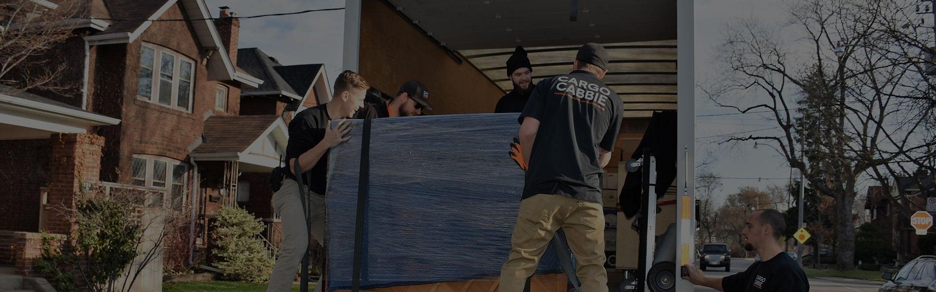 Moving Companies In Toronto Moving Team Cargocabbie Ca