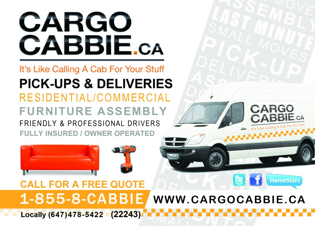 Cargo Cabbie moving and deliveries