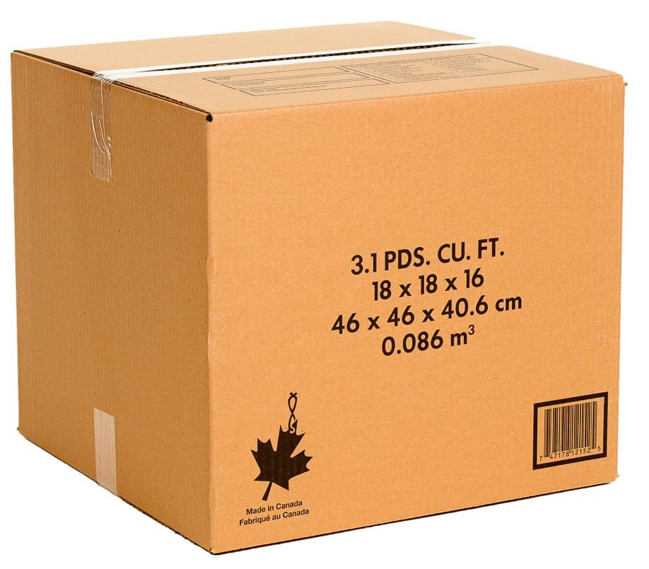 Moving Company Reviews >> 3 cb ft cardboard moving box