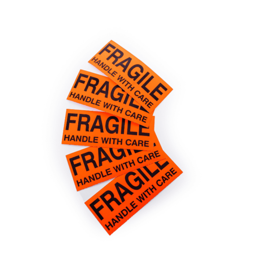 Fragile stickers package for moving (1)