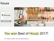 Cargo Cabbie Wins Again Best of Houzz 2017