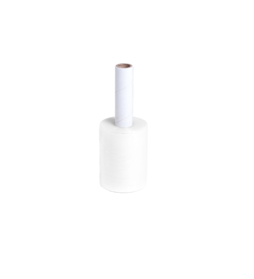 5in stretch wrap roll with handle
