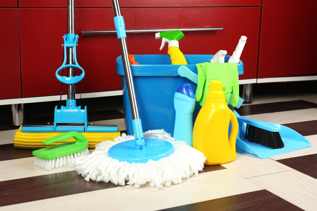 cleaning supplies blog post cargo cabbie