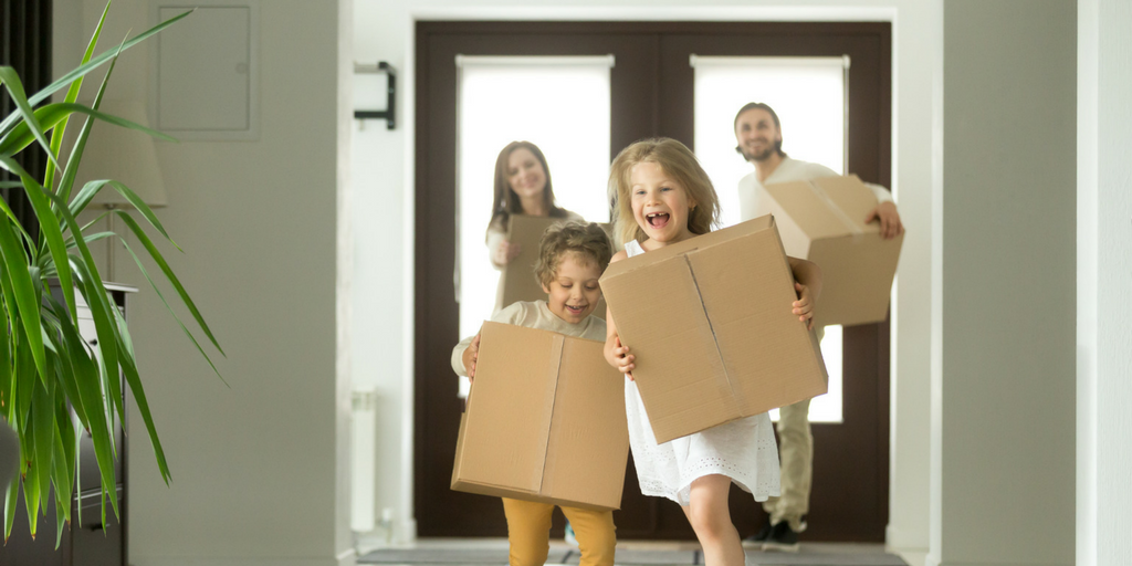 moving with children advice