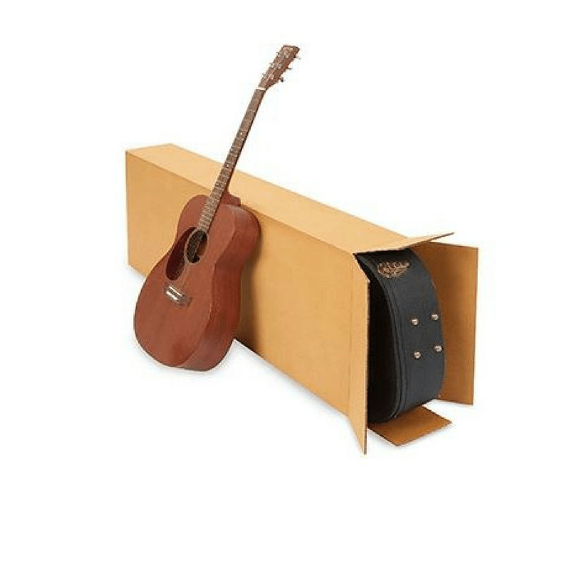 Acoustic Guitar Cardboard Box Specialty Boxes Cargo