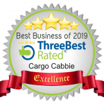 Three best rated moving companies Toronto cargo cabbie