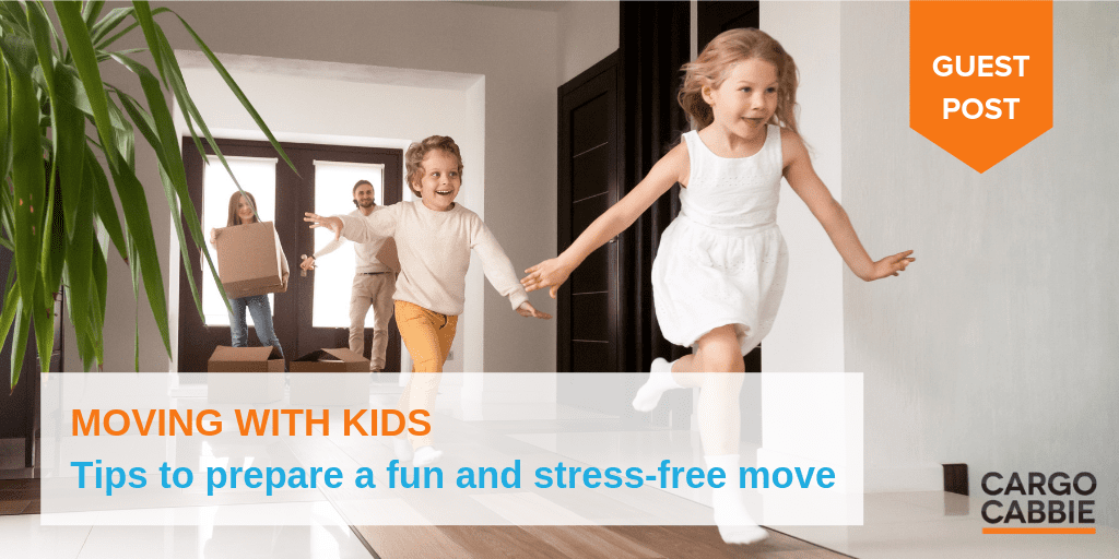 tips on moving with kids and children