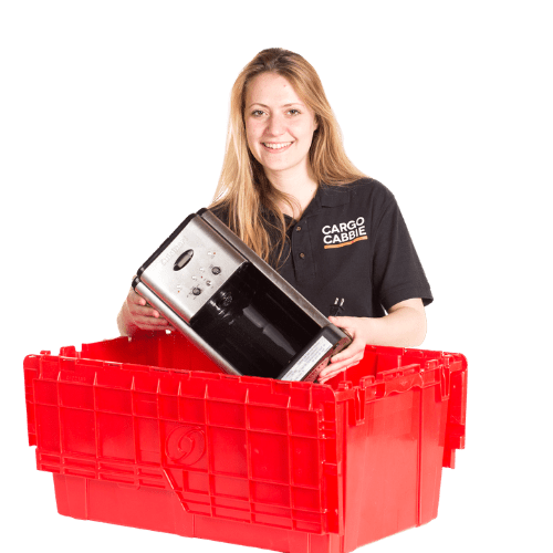 Rent moving boxes - CARGO CABBIE BINS