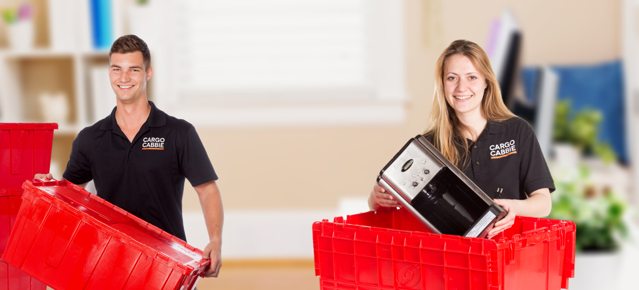 Moving box rental in Toronto