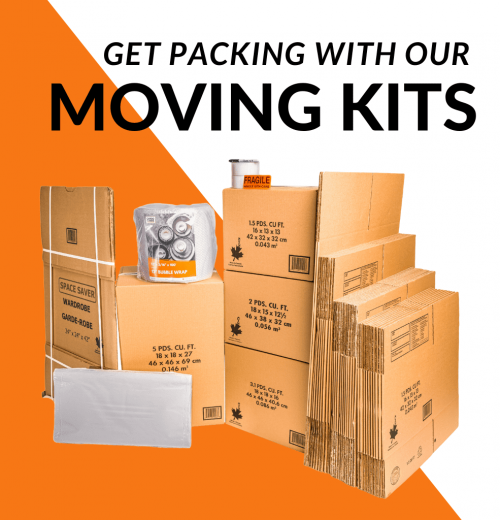 packing and moving kits in Toronto CARGO CABBIE
