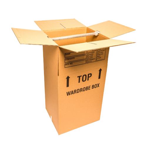 Wardrobe Box, Wardrobe Moving Box With Bar Professional Moving CARGO CABBIE