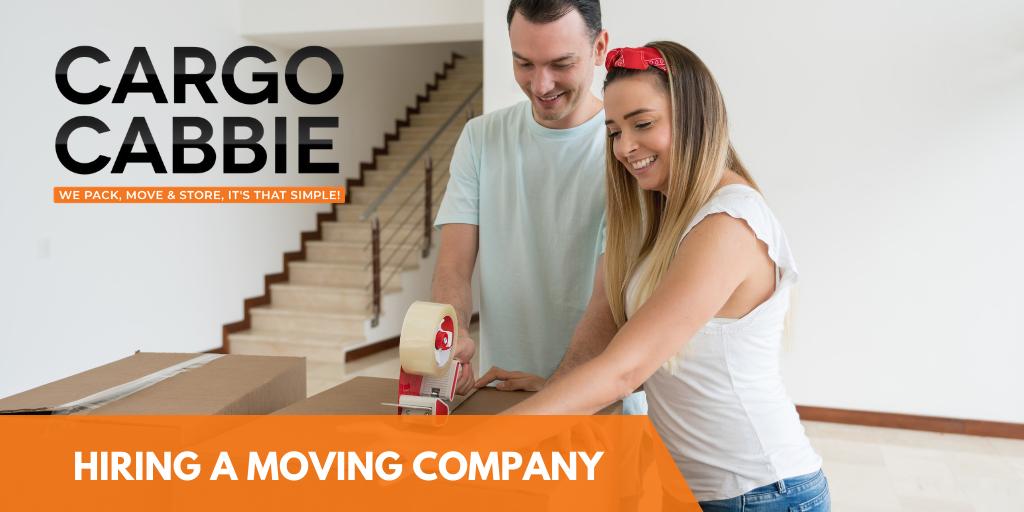 Hiring a professional moving company