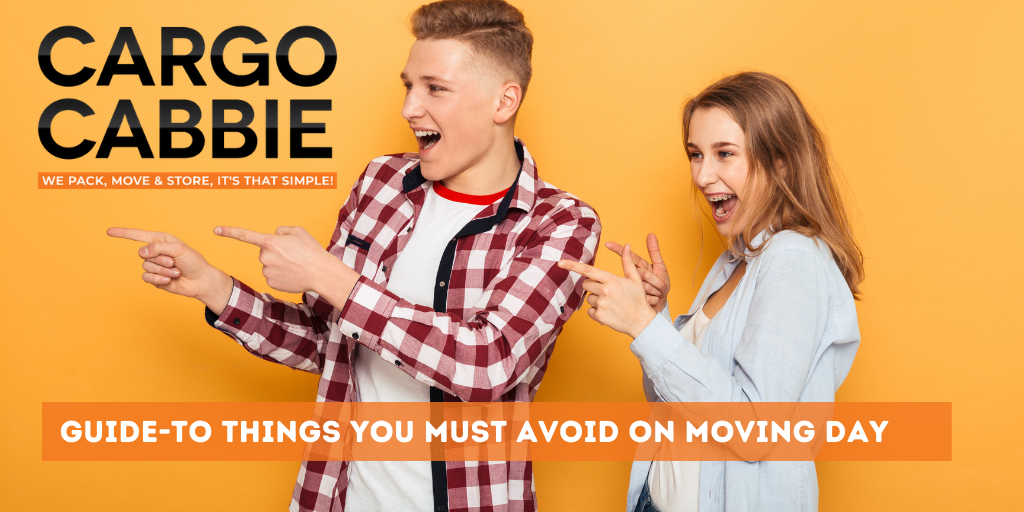 Things to Avoid on Moving Day