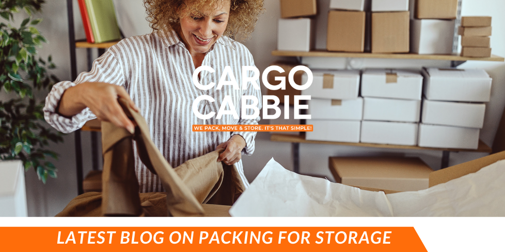 PACKING FOR STORAGE blog CARGO CABBIE